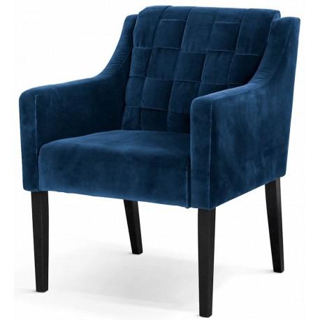Fotel AVA niebieski