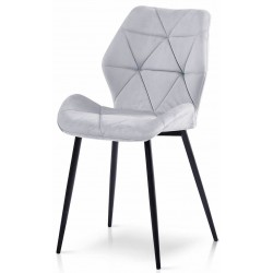 Krzesło DIAMOND szare