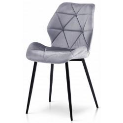Krzesło DIAMOND szare ciemne