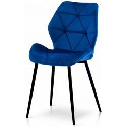 Krzesło DIAMOND niebieskie