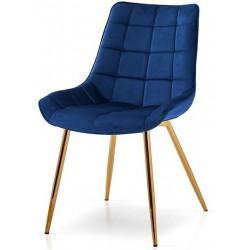 Krzesło CONSTANCE szafirowe