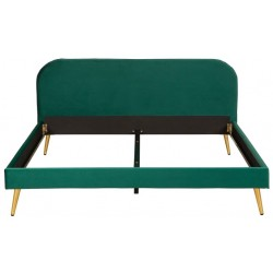 Łóżko LORENCE zielone 150cm