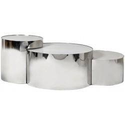 Zestaw stolików TRIPLEX STEEL