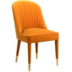 Krzesło GRETA MUSTARD