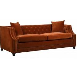 Sofa BURNT rozkładana