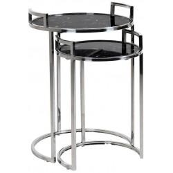 Komplet stolików EMPIRE MARBLE