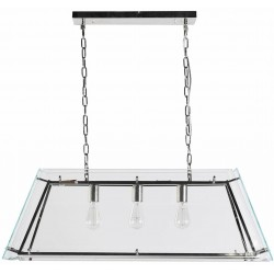 Lampa wisząca HARPER GLASS