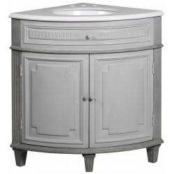 Narożna szafka łazienkowa z umywalką SOPHIE