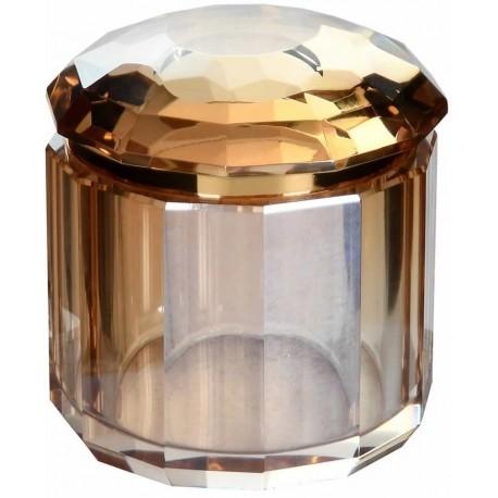 Kryształowy pojemnik AMBRA