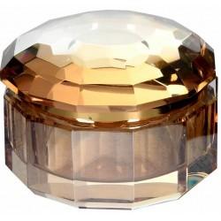 Kryształowy pojemnik AMBRA S