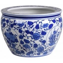 Doniczka BLUE FLOWERS