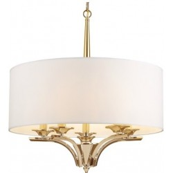 Lampa sufitowa CHARLOTTE złota