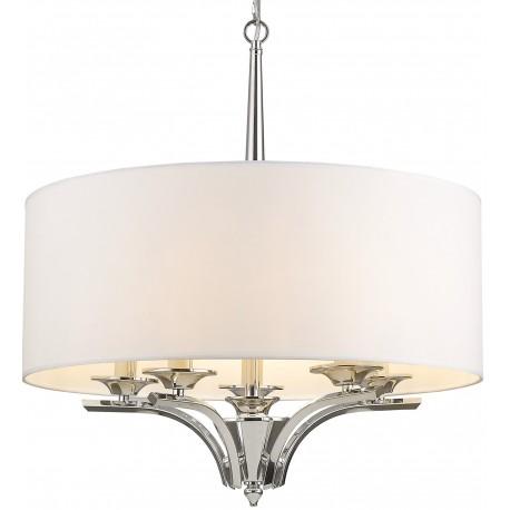 Lampa sufitowa CHARLOTTE srebrna