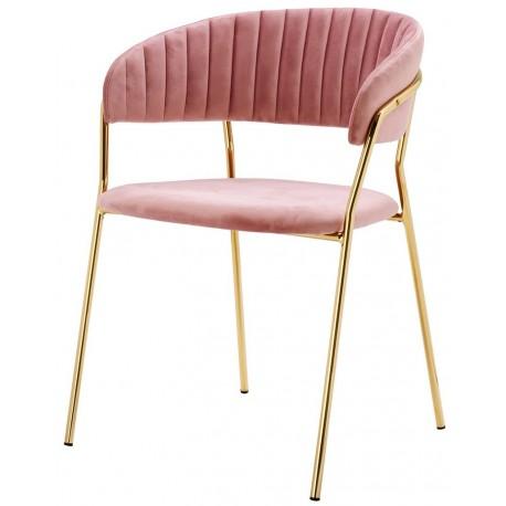 Krzesło SEVERIN różowe