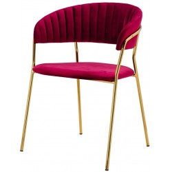 Krzesło SEVERIN burgund
