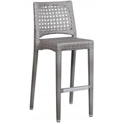 Zewnętrzne krzesło barowe PLEXUS