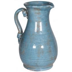Ceramiczny dzban SECRET GARDEN blue