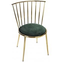 Krzesło VANGELIS zielone