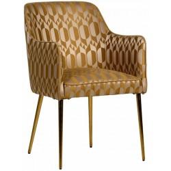 Krzesło NEO RETRO ochre