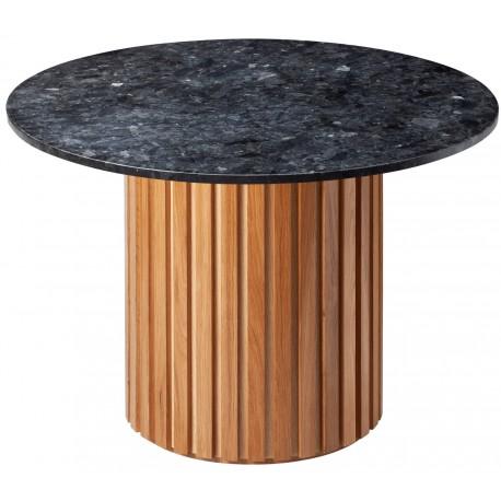 Stół jadalniany VIENNA OAK black marble