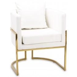 Fotel MODENA WHITE