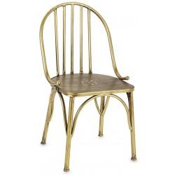 Krzesło SCRIBE złote