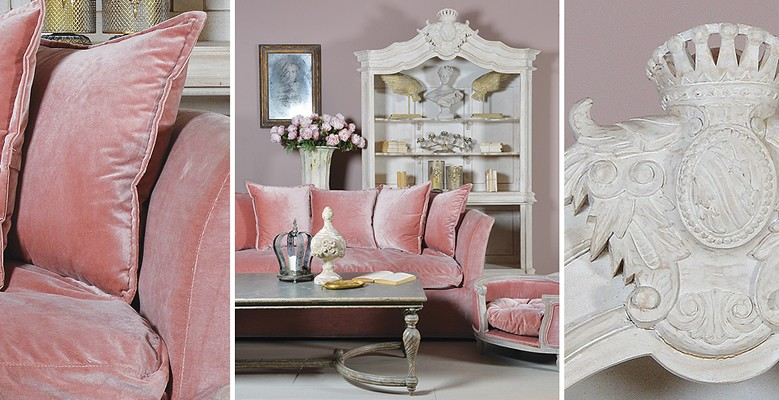 Klasyczne kredensy, regały, szafy oraz witryny do wnętrz w stylu nowoczesnym i stylowym.