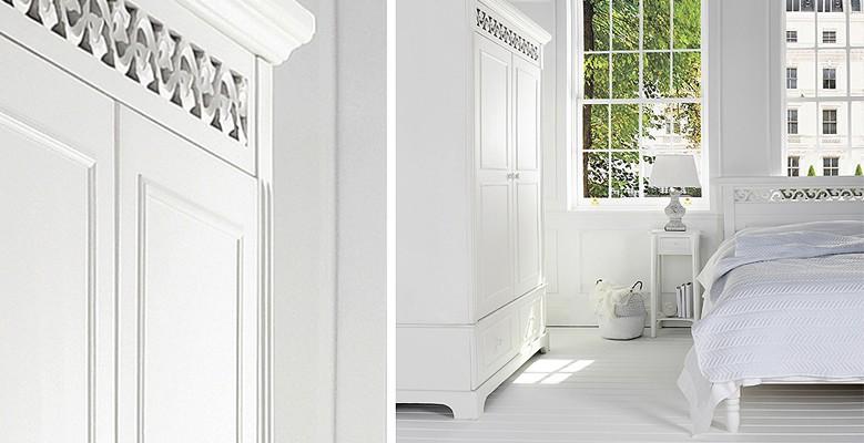 Nowoczesne i klasyczne łóżka do wnętrz w stylu Coastal, Hamptons, Eichholtz, Modern Classic oraz New York.