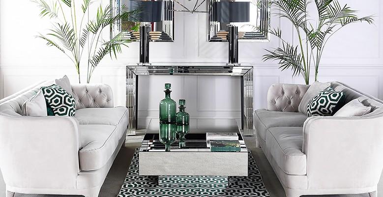 Stoliki i konsole do wnętrz w stylu Hamptons, Coastal, Modern Classic oraz New York.